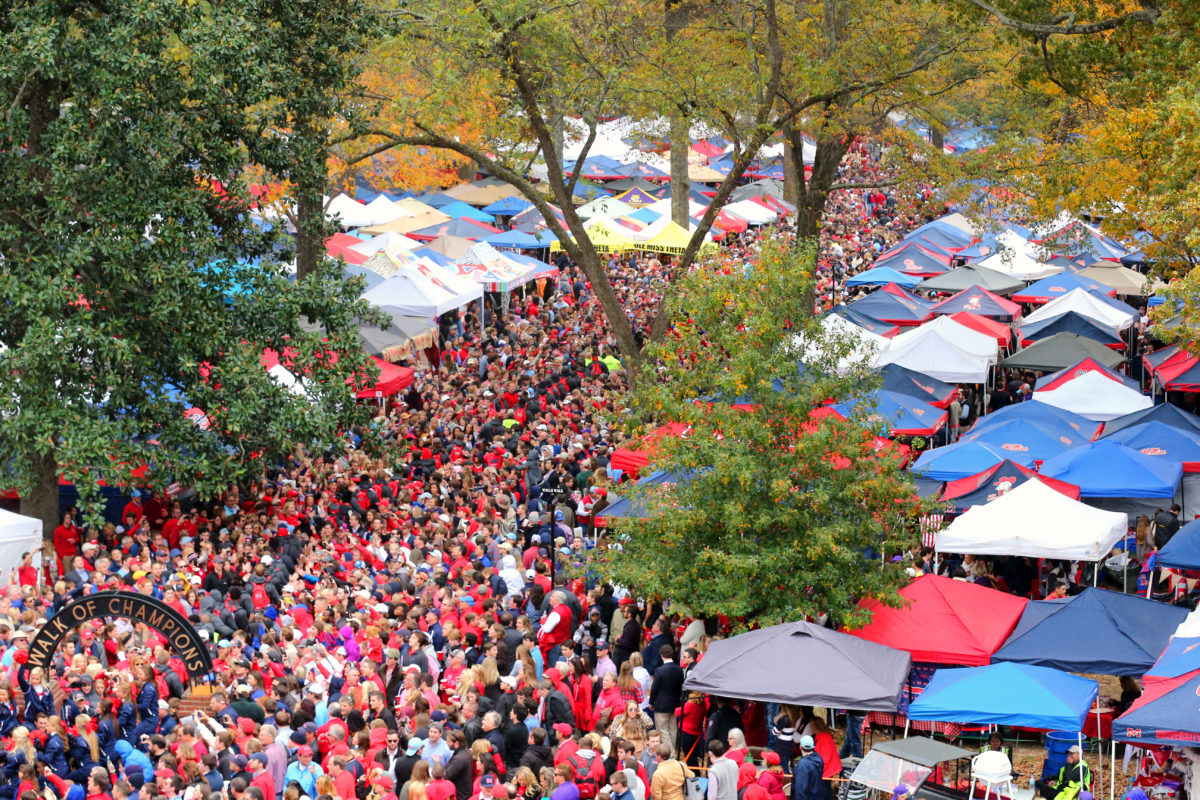 Ole Miss Grove Picture